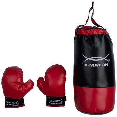 Купить Набор для Бокса X-match, Д-130мм, Н-420мм, сетка 87705, Спортивные товары