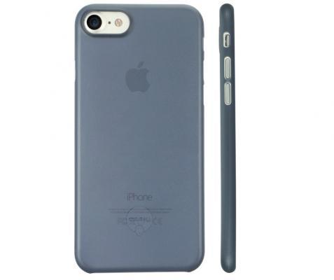 Накладка Ozaki O!coat 0.3 Jelly для iPhone 7 синий OC735DB