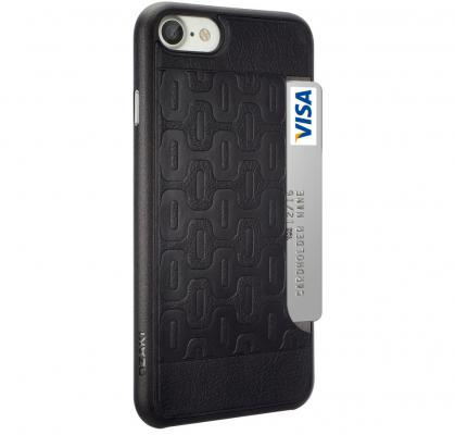 Накладка Ozaki 0.3 + Pocket для iPhone 7 чёрный OC737BK
