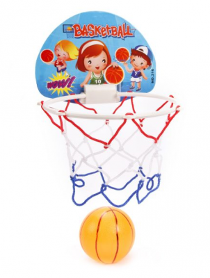 Фото - Набор для игры в баскетбол Shantou Gepai Баскетбол 3 предмета Т56283 баскетбол