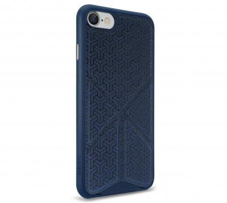 Накладка Ozaki O!coat 0.3+Totem Versatile для iPhone 7 синий OC777DB