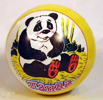 Мяч Мячи Чебоксары D150 с рисунком лак. с-52ЛП
