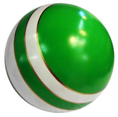 Мяч Мячи Чебоксары D150 с полосой лак. с-22ЛП