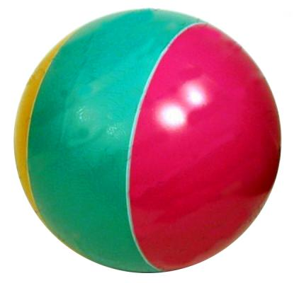 Мяч Мячи Чебоксары D200 с полосой лак. с-23ЛП 14001