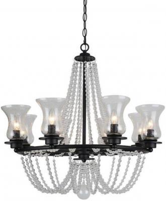 Подвесная люстра Arte Lamp 59 A6586LM-8BK подвесная люстра arte lamp 59 a6586lm 5bk