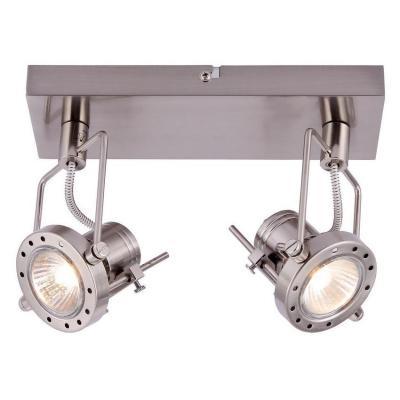 Спот Arte Lamp Costruttore A4300AP-2SS подсветка costruttore a4300ap 2ab 2х50вт gu10 металл античная бронза