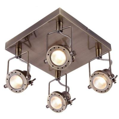 Спот Arte Lamp Costruttore A4300PL-4AB arte lamp спот arte lamp costruttore a4300pl 3ss