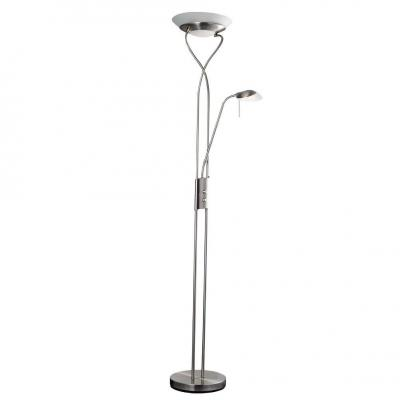 Торшер Arte Lamp Duetto A4399PN-2SS торшер arte lamp duetto led a5905pn 2cc