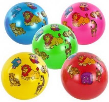 Мяч детский латексный  Shantou Gepa 23см,  в ас-те, двусторонняя наклейка