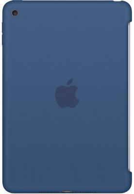 Чехол Apple Silicone Case для iPad mini 4 синий MN2N2ZM/A