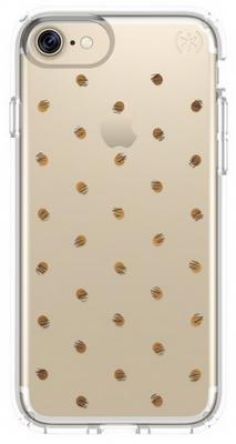 Чехол Speck Presidio Clear + Print для iPhone 7 серебристый прозрачный 79991-5752