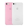Набор чехлов Ozaki 0.3 Jelly для iPhone 7 прозрачный розовый OC720CP