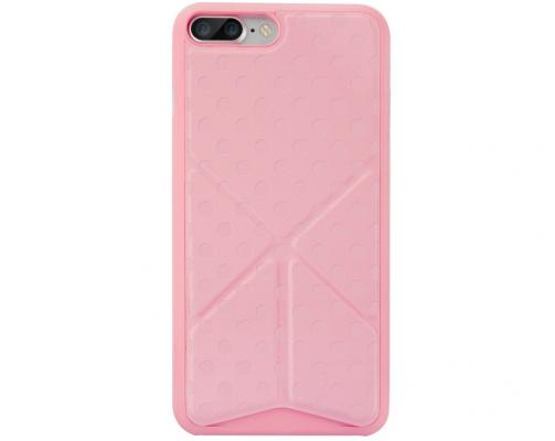 Ozaki Чехол (клип-кейс) Ozaki Ocoat 0.4+Totem Versatile для iPhone 7 Plus розовый OC745PK