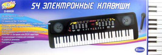 Синтезатор ABtoys D-00026 54 клавиши