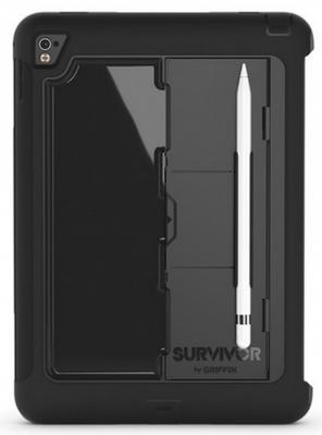 Чехол Griffin Survivor Slim для iPad Pro 9.7 чёрный GB41875