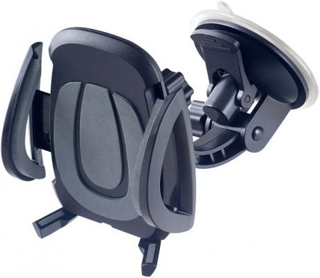 """Автомобильный держатель Perfeo PH-520 до 6.5"""" на стекло черный серый стоимость"""