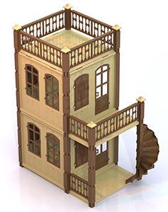 Дом для кукол Нордпласт Замок Принцессы 591/1 нордпласт ведро форма замок нордпласт