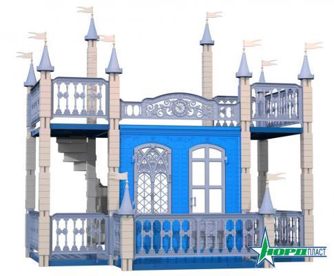 Замок для кукол Нордпласт Снежная Королева 593 замок для кукол 3218041 складной