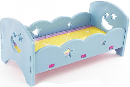 Кроватка для кукол Shantou Gepai 60554P сборная