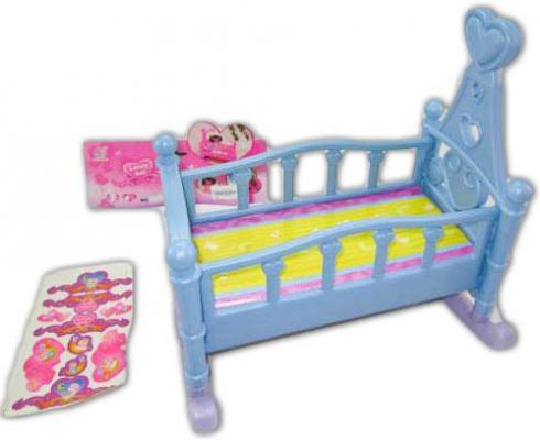 Кроватка для кукол Shantou Gepai 60553P