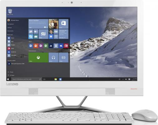 "Моноблок 23"" Lenovo IdeaCentre AIO 300-23ISU 1920 x 1080 Intel Core i3-6100U 4Gb 1Tb Nvidia GeForce GT 920A 2048 Мб DOS белый F0BY00ATRK"