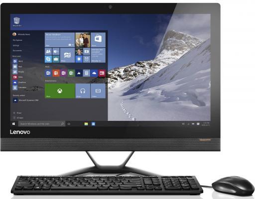 """Моноблок 21.5"""" Lenovo IdeaCentre AIO 300-22ISU 1920 x 1080 Intel Celeron-3855U 4Gb 500Gb Intel HD Graphics 510 64 Мб DOS черный F0BX00K4RK"""