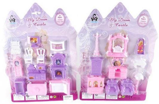 Мебель для кукольного домика Shantou Gepai в ас-те, блистер. 3307