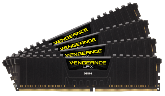 Оперативная память 64Gb PC4-17000 2133MHz DDR4 DIMM Corsair CMK64GX4M4A2133C13