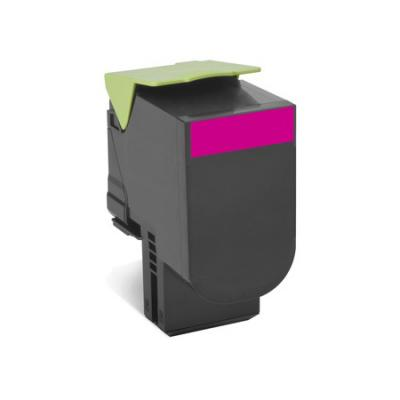 Картридж Lexmark 70C8XME для CS510de CS510dte пурпурный 4000стр тонер картридж для лазерных аппаратов lexmark cs510de cs510dte black extra high yield corporate cartridge 8k 70c8xke