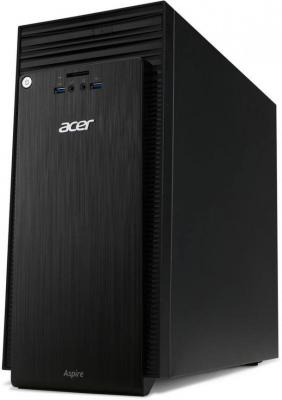 Системный блок Acer Aspire TC-217 A6-7310 2.0GHz 4Gb 1Tb R5-310-2Gb DVD-RW Win10 черный DT.B1UER.008