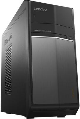 Системный блок Lenovo IdeaCentre 710-25ISH i7-6700 3.4GHz 8Gb 1Tb R9-370X-4Gb DVD-RW Win10 черный 90FB002KRS
