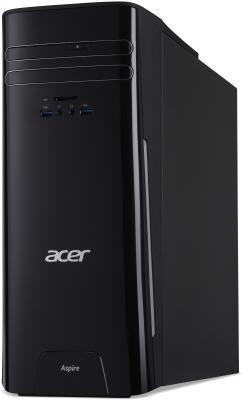 Системный блок Acer Aspire TC-230 A4-7210 1.8GHz 4Gb 500Gb Radeon R3 DVD-RW Win10 черный DT.B64ER.005