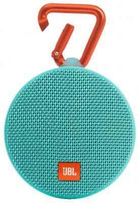 Акустическая система JBL Clip 2 голубой JBLCLIP2TEAL