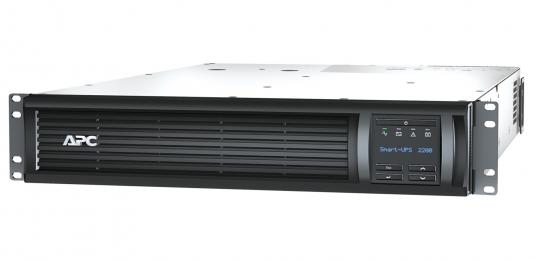 ИБП APC SMT2200RMI2UNC 2200VA Черный ибп apc smart 2200va usb lcd smt2200rmi2u