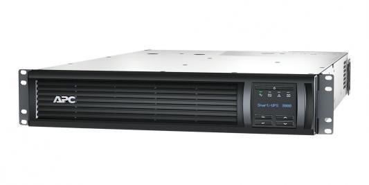 ИБП APC Smart-UPS SMT 3000VA 3000VA Черный SMT3000RMI2UNC ибп apc smart x smx3000hvnc 3000va черный