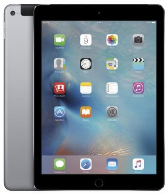 "Планшет Apple iPad Air 2 9.7"" 32Gb серый Wi-Fi Bluetooth 3G LTE iOS MNVP2RU/A"