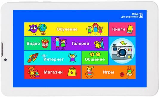 """Планшет TurboSmart Turbokids 3G 7"""" 8Gb белый Wi-Fi Bluetooth 3G Android"""