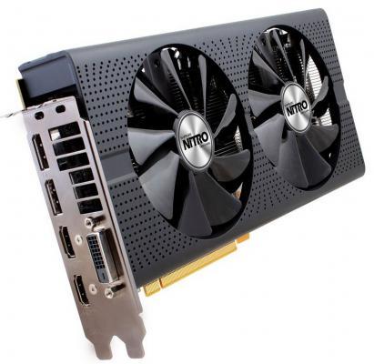 Видеокарта 8192Mb Sapphire RX 480 PCI-E DVI-D HDMI DP 11260-07-20G Retail