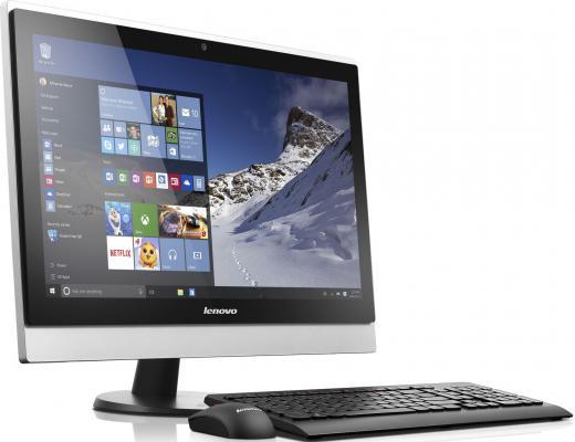"Моноблок 23"" Lenovo S500z 1920 x 1080 Intel Core i3-6100U 8Gb 1Tb Intel HD Graphics 520 Windows 10 серебристый черный 10K30020RU 10K30020RU"