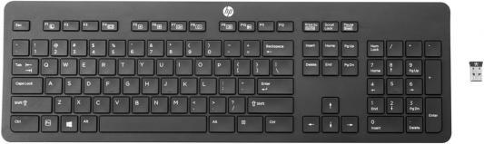 Клавиатура HP Link-5 USB черный T6U20AA