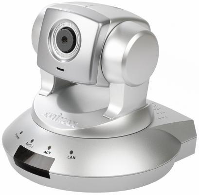 Камера IP Edimax IC-7000PT CMOS MJPEG MPEG-4 RJ-45 LAN серебристый