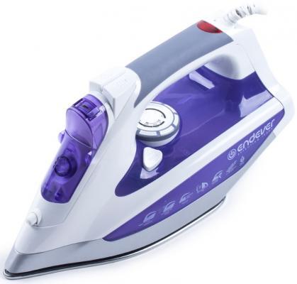 Утюг ENDEVER SkySteam-715 2600Вт фиолетовый цена