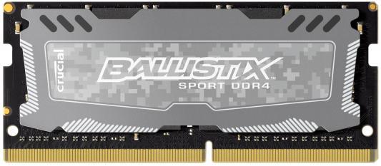 Оперативная память для ноутбука 4Gb (1x4Gb) PC4-19200 2400MHz DDR4 SO-DIMM CL16 Crucial BLS4G4S240FSD