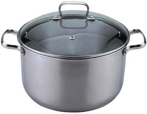 Кастрюля Bekker 1724-ВК 24 см 6.3 л нержавеющая сталь набор посуды bekker jumbo вк 962