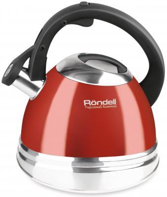 Чайник Rondell Fiero RDS-498 красный 3 л нержавеющая сталь цена и фото