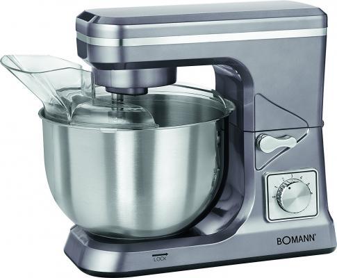 Кухонный комбайн Bomann KM 1393 CB серый титан цена и фото