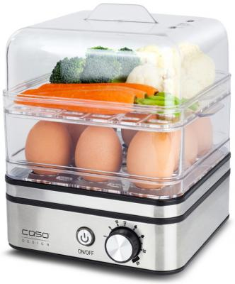 Яйцеварка CASO ED 10 серебристый 400 Вт соковыжималка steba e 400 400 вт серебристый