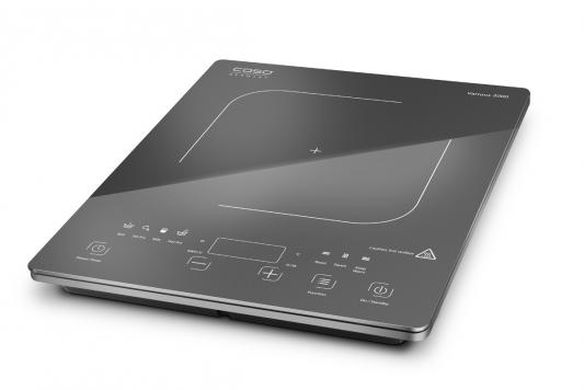 Индукционная электроплитка CASO Various 2000 чёрный 2002 плитка индукционная caso slimline 2000