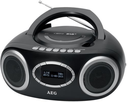 Магнитола AEG SR 4370 schwarz DAB+