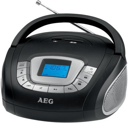 Магнитола AEG SR 4373 schwarz aeg mr 4139 bt schwarz bluetooth радиоприемник